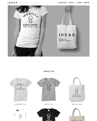 IDEAS = identity earth spirit オフィシャルWEBサイト