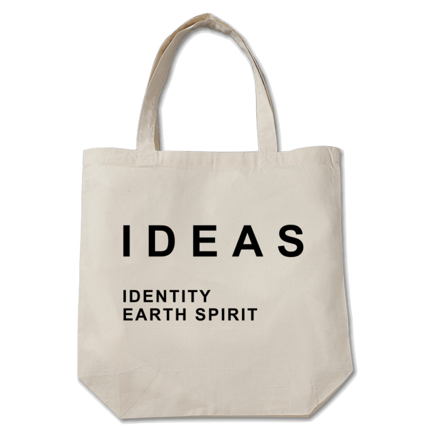 IDEAS/Typography Toto bag