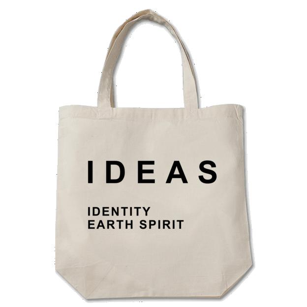 IDEAS/Typography Toto bag